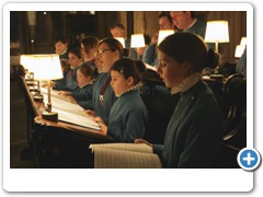 Choristers practicing in Wells Cathedral  Wells Somerset