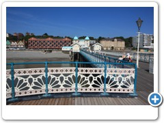 The Sea front from the Pier at Penarth South Wales