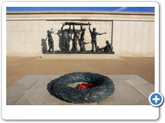 The Armed Forces Memorial at the National Memorial Arboretum near Alrewas Staffs